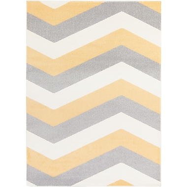 Surya Horizon HRZ1055-23 Machine Made Rug, 2' x 3' Rectangle