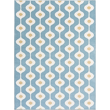 Surya Horizon HRZ1075-23 Machine Made Rug, 2' x 3' Rectangle