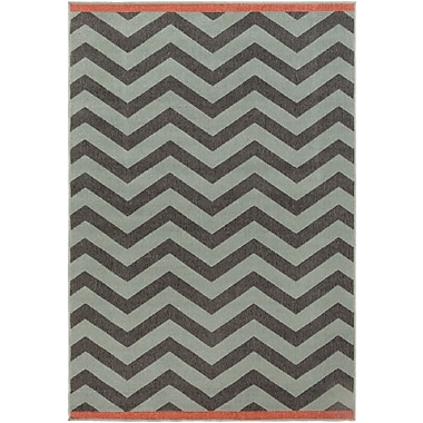 Surya Alfresco ALF9643-69 Machine Made Rug, 6' x 9' Rectangle
