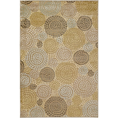 Surya Basilica BSL7128-76106 Machine Made Rug, 7'6