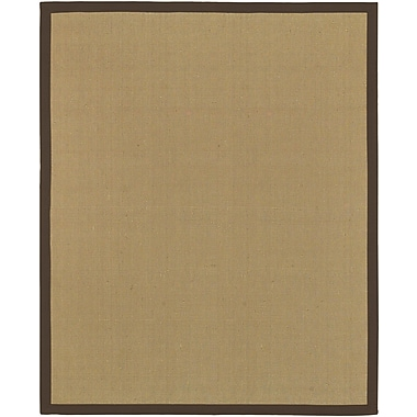 Surya Soho BROWN Hand Woven Rug, 8' x 10' Rectangle