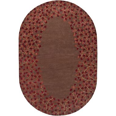 Surya Athena ATH5003-810OV Hand Tufted Rug, 8' x 10' Oval