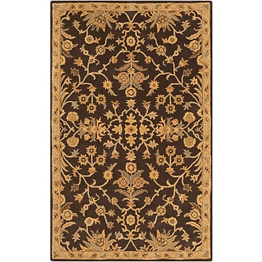 Surya Caesar CAE1151-4SQ-SQ Hand Tufted Rug, 4' Rectangle