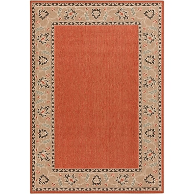 Surya Alfresco ALF9598-69 Machine Made Rug, 6' x 9' Rectangle