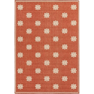 Surya Alfresco ALF9611-76109 Machine Made Rug, 7'6