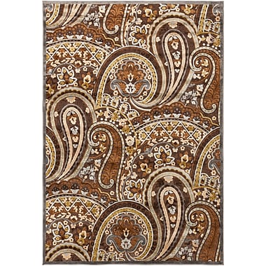 Surya Basilica BSL7198-5276 Machine Made Rug, 5'2