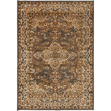 Surya Basilica BSL7202-76106 Machine Made Rug, 7'6