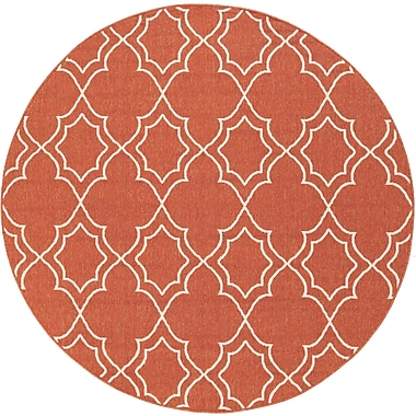 Surya Alfresco ALF9591-RD Machine Made Rug