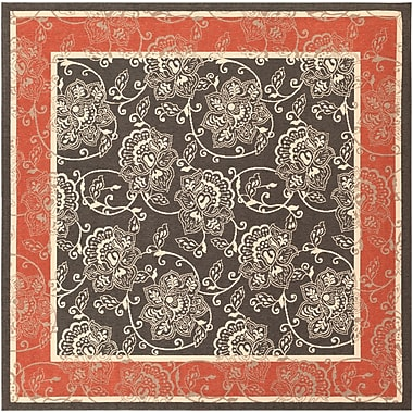Surya Alfresco ALF9592-89SQ Machine Made Rug, 8'9