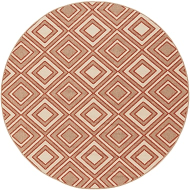 Surya Alfresco ALF9618-89RD Machine Made Rug, 8'9