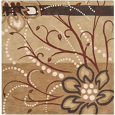 Surya Athena ATH5006-4SQ Hand Tufted Rug, 4' Square