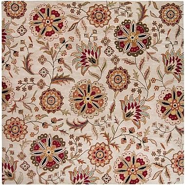 Surya Athena ATH5035-4SQ Hand Tufted Rug, 4' Square