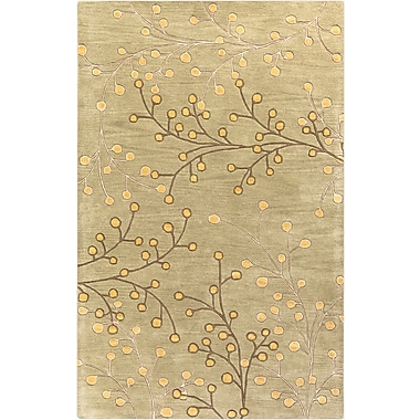 Surya Athena ATH5113-58 Hand Tufted Rug, 5' x 8' Rectangle