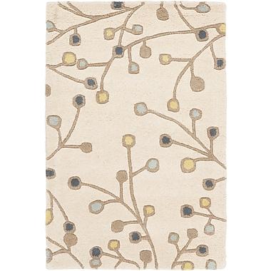 Surya Athena ATH5116-69 Hand Tufted Rug, 6' x 9' Rectangle