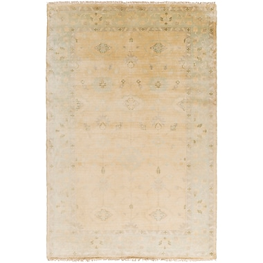 Surya Antique ATQ1011-811 Hand Knotted Rug, 8' x 11' Rectangle