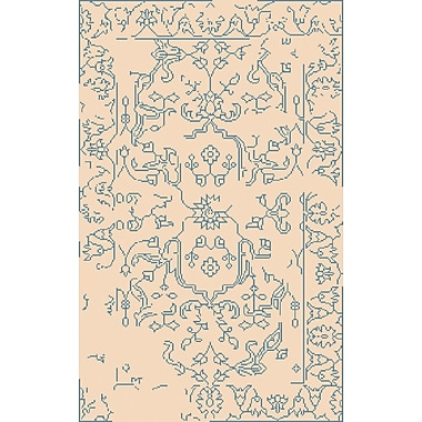 Surya Bagras BGR6006-23 Hand Knotted Rug, 2' x 3' Rectangle