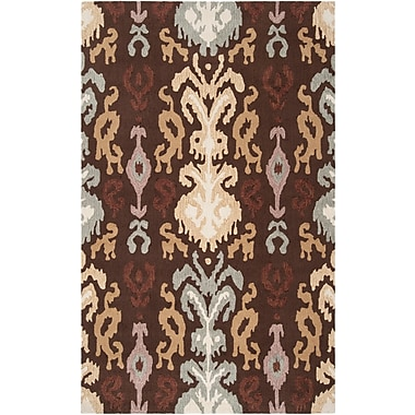 Surya Brentwood BNT7673-58 Hand Hooked Rug, 5' x 8' Rectangle