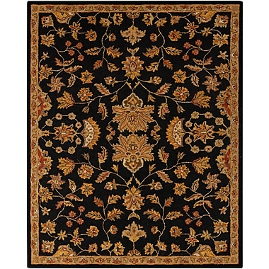 Surya Carrington CAR1000-58 Hand Hooked Rug, 5' x 8' Rectangle