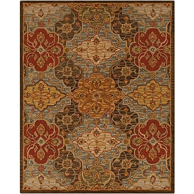 Surya Carrington CAR1005-23 Hand Hooked Rug, 2' x 3' Rectangle