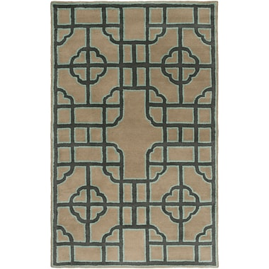 Surya Beth Lacefield Calaveras CAV4027-58 Hand Tufted Rug, 5' x 8' Rectangle