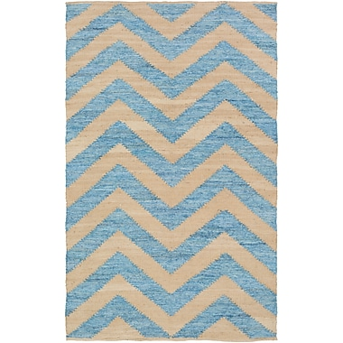Surya Denim DNM1005-811 Hand Loomed Rug, 8' x 11' Rectangle