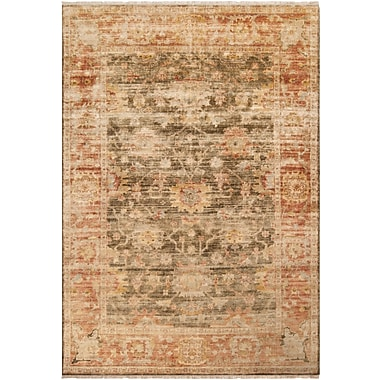 Surya Hillcrest HIL9004-23 Hand Knotted Rug, 2' x 3' Rectangle