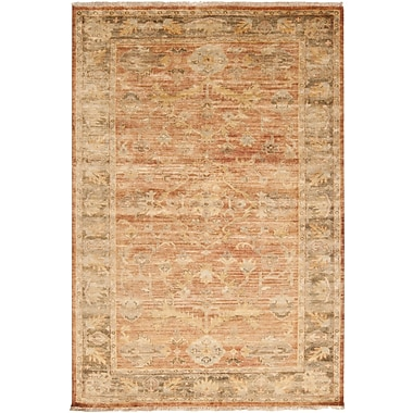 Surya Hillcrest HIL9009-811 Hand Knotted Rug, 8' x 11' Rectangle