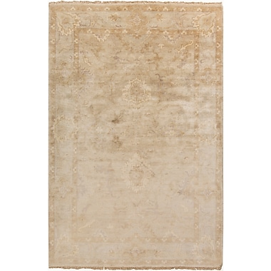 Surya Hillcrest HIL9018-23 Hand Knotted Rug, 2' x 3' Rectangle