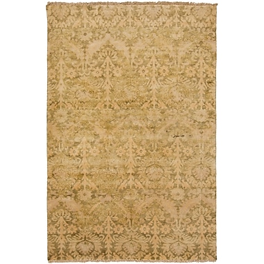 Surya Hillcrest HIL9025-23 Hand Knotted Rug, 2' x 3' Rectangle
