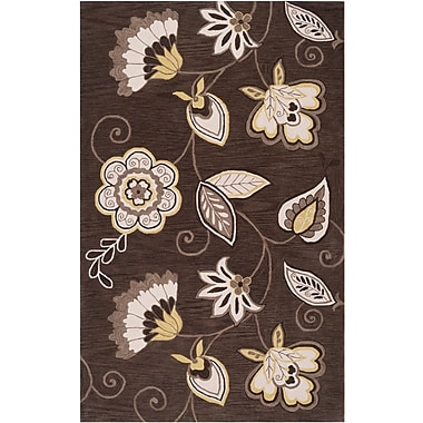 Surya Angelo Home Impressions IPR4001-576 Hand Tufted Rug, 5' x 7'6