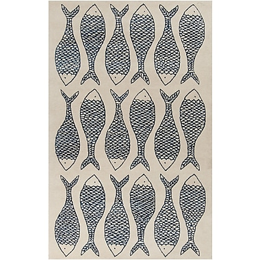 Surya Lighthouse LTH7027-3353 Hand Tufted Rug, 3'3