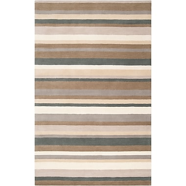 Surya Angelo Home Madison Square MDS1006-576 Hand Loomed Rug, 5' x 7'6
