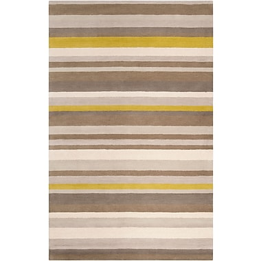 Surya Angelo Home Madison Square MDS1009-576 Hand Loomed Rug, 5' x 7'6
