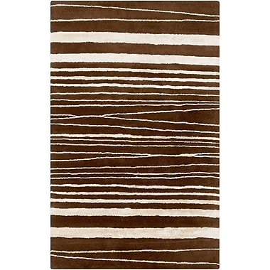 Surya GlucksteinHome Manor MNR1004-58 Hand Tufted Rug, 5' x 8' Rectangle