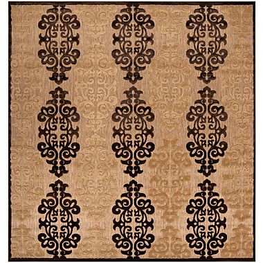 Surya Portera PRT1020-76SQ Machine Made Rug, 7'6