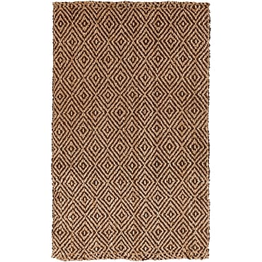 Surya Reeds REED806-58 Hand Woven Rug, 5' x 8' Rectangle