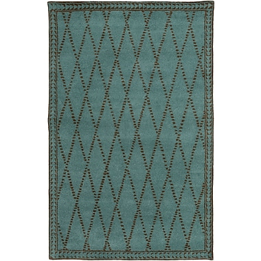 Surya Stampede SMP6004-58 Hand Tufted Rug, 5' x 8' Rectangle