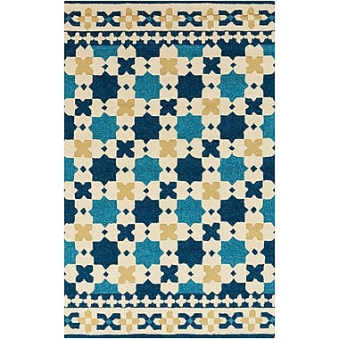 Surya Storm SOM7723-23 Hand Hooked Rug, 2' x 3' Rectangle