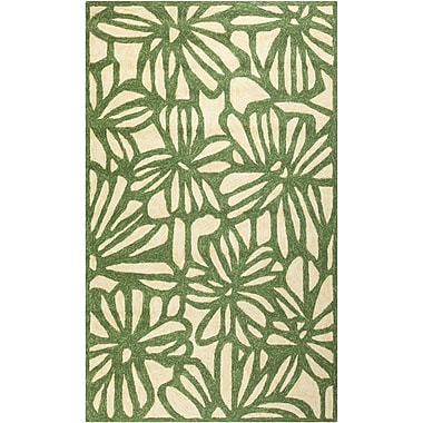 Surya Storm SOM7735-23 Hand Hooked Rug, 2' x 3' Rectangle