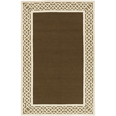Surya Storm SOM7758-23 Hand Hooked Rug, 2' x 3' Rectangle