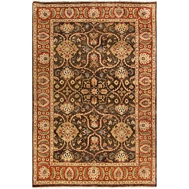 Surya Timeless TIM7920-811 Hand Knotted Rug, 8' x 11' Rectangle