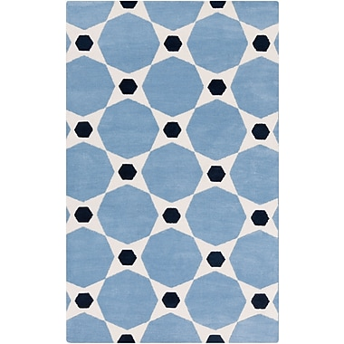 Surya Abigail ABI9068-58 Machine Made Rug, 5' x 8' Rectangle