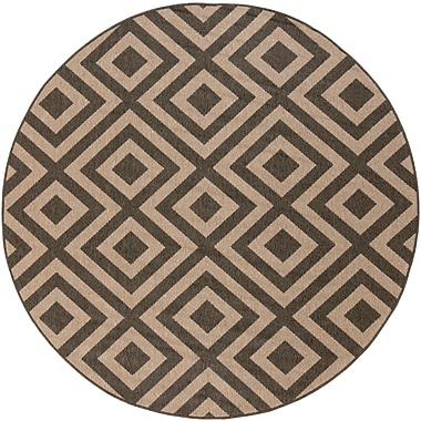Surya Alfresco ALF9641-53RD Machine Made Rug, 5'3