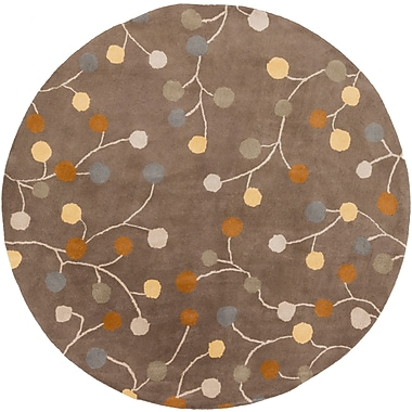 Surya Athena ATH5107-4RD Hand Tufted Rug, 4' Round