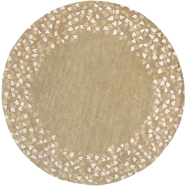 Surya Athena ATH5119-4RD Hand Tufted Rug, 4' Round