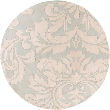 Surya Athena ATH5132-4RD Hand Tufted Rug, 4' Round