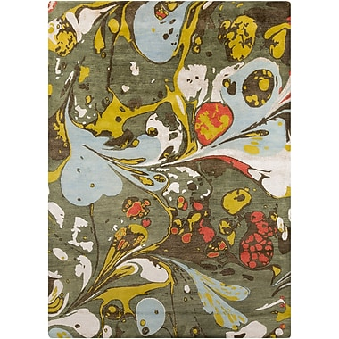 Surya Banshee BAN3310-811 Hand Tufted Rug, 8' x 11' Rectangle