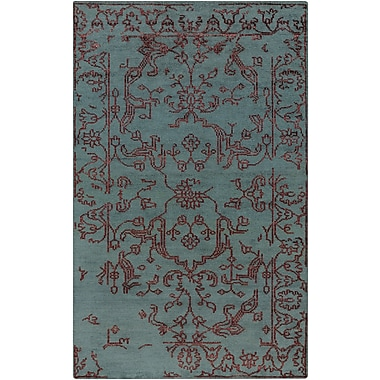 Surya Bagras BGR6002-23 Hand Knotted Rug, 2' x 3' Rectangle