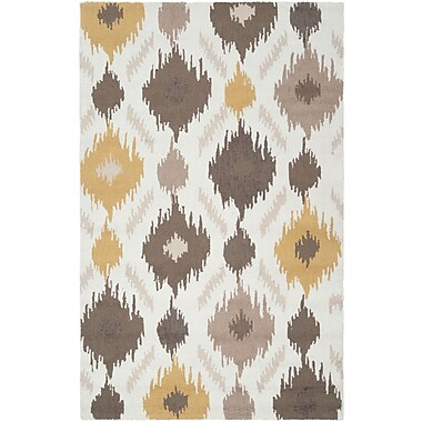 Surya Brentwood BNT7676-58 Hand Hooked Rug, 5' x 8' Rectangle