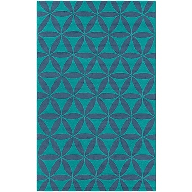 Surya Brentwood BNT7695-58 Hand Hooked Rug, 5' x 8' Rectangle